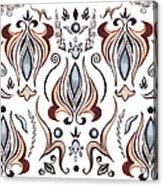 Floral Pattern I Acrylic Print