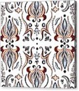 Floral Pattern IIi Acrylic Print