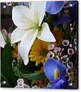 Floral Rhapsody Acrylic Print