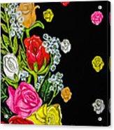 Floral Rhapsody Pt.4 Acrylic Print