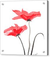 Floral Series #5 Acrylic Print