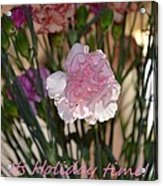 Floral Standout Acrylic Print