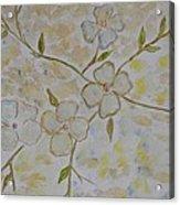 Floral Stem Acrylic Print