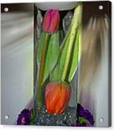 Floral Table Piece Acrylic Print