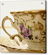 Floral Tea Acrylic Print