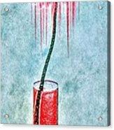 Floral - The Dancing Gerbera Acrylic Print