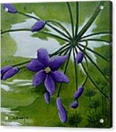 Floral Triptych 3. Acrylic Print