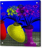 Floral Wonders Acrylic Print