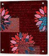 Floralis - 833 Acrylic Print