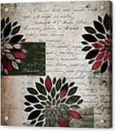 Floralis - 889a Acrylic Print