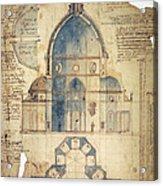 Florence: Brunelleschi Acrylic Print
