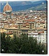 Florence Italy Panoramic Acrylic Print