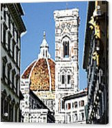 Florence Italy Santa Maria Fiori Duomo Acrylic Print