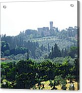 Florence Landscape Acrylic Print