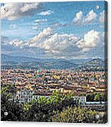 Florence Panorama Acrylic Print