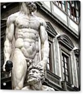 Florence Statue Acrylic Print