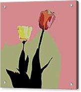 Flores De Vida Acrylic Print