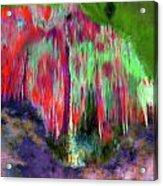 Florescent Cave Acrylic Print