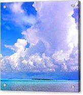 Florida Bay At Shell Pass Filtered Acrylic Print