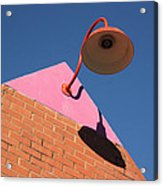 Shadow Of The Lantern Acrylic Print