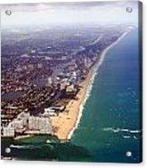Florida Coast Line-2 Acrylic Print