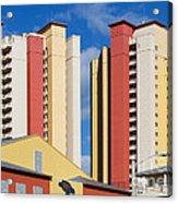 Florida Condos Acrylic Print