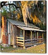 Florida Cracker Cabin Acrylic Print
