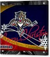 Florida Panthers Christmas Acrylic Print