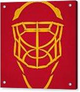 Florida Panthers Goalie Mask Acrylic Print