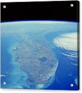 Florida Peninsula, Discovery Shuttle Acrylic Print