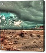 Florida Point Begining Of The Storm Acrylic Print