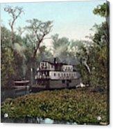 Florida Steamboat, C1902 Acrylic Print