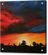 Florida Sunset Acrylic Print by Lisa Bentley