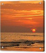 Florida Sunset Acrylic Print by Sandy Keeton
