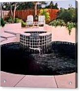 Florida Swimming Pool Acrylic Print