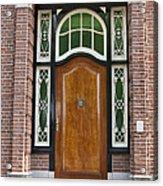 Florishaven Doorway Acrylic Print