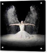 Flour Wings Acrylic Print