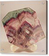 Fluorite Acrylic Print