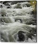 Waterflow Acrylic Print