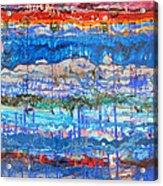Flow Instability Acrylic Print