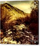 Flow V14 Acrylic Print