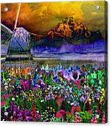 Flower Bliss Acrylic Print