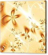 Flower Breeze Acrylic Print