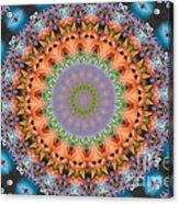 Flower Bursting Acrylic Print