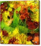 Flower Carnival Acrylic Print