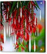Flower Chandelier Acrylic Print