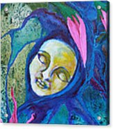 Flower Child Dreams Acrylic Print