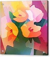 Flower Deco II Acrylic Print