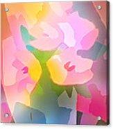 Flower Deco IIi Acrylic Print by Lutz Baar