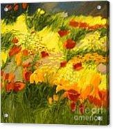 Flower Fantasy Acrylic Print